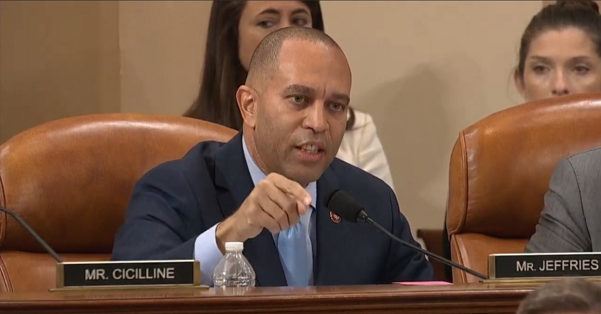 Hakeem Jeffries Lays Out Devastating Case for Impeachment: Trump 'Was Caught Red-Handed'