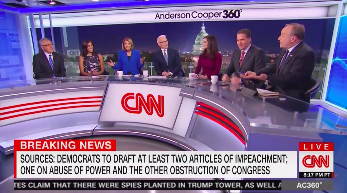 CNN Panel Erupts at Paul Begala's Stunning Prediction: 'This Is Not the Last Impeachment We Will Cover of Donald J. Trump'