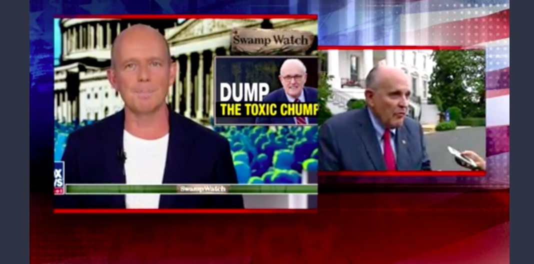 Giuliani Rails Against 'Jerk' Steve Hilton, Threatens Lawsuit: 'I Don't Know What the Heck Fox is Doing!'