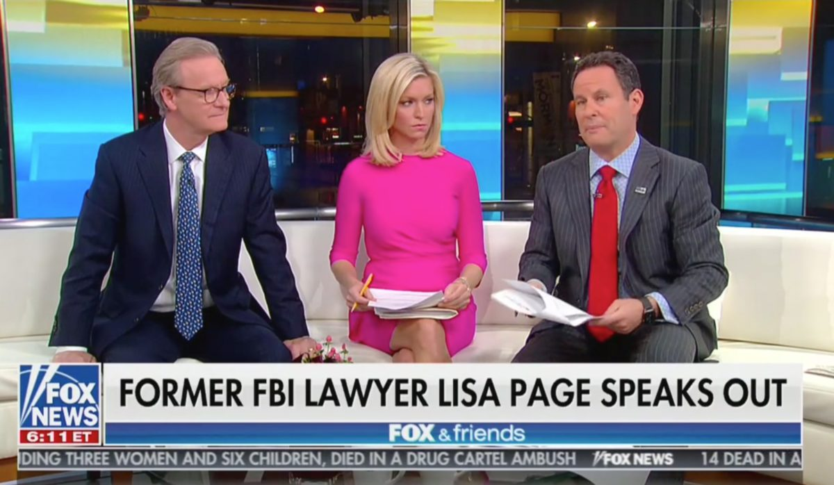 Molly Jong-Fast Rips Fox & Friends for Lisa Page Interview Criticism: Journalism Tips From Trump's 'Personal Propaganda' Show