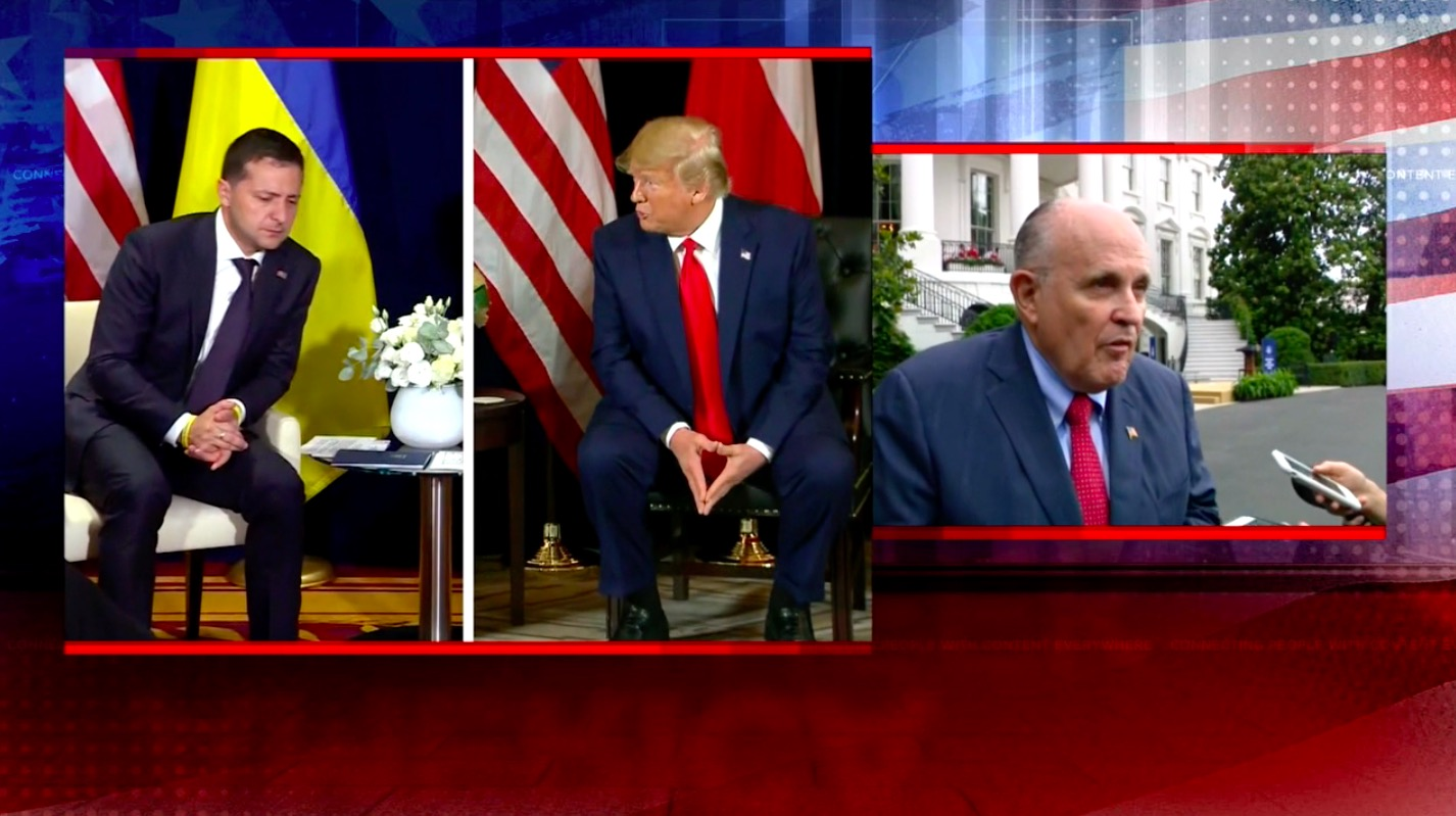 Giuliani Declines to Reveal His Whereabouts in Wild New Interview on Ukraine: 'I Can't Even Confirm It'