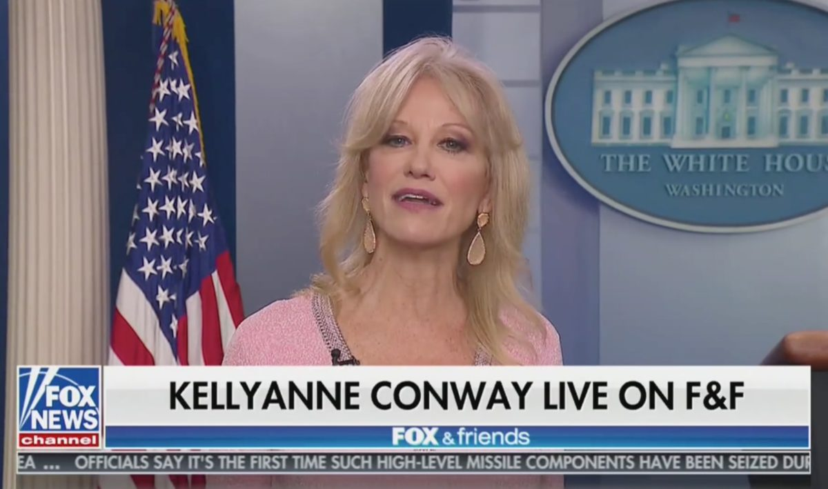 Kellyanne Conway Defends World Leaders Laughing at Trump: They Are 'Jealous' He 'Commands The Room'