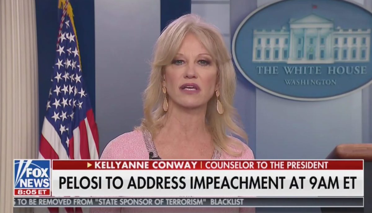 Kellyanne Conway Manages to Get Extremely Mad at Stanford Professor: 'Who the Hell are You Lady!?'
