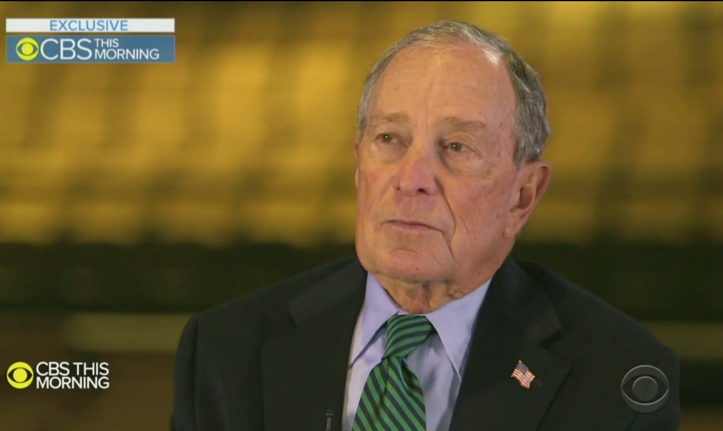 Bloomberg Throws Down the Gauntlet on His 2020 Rivals: 'Trump Would Eat Them Up'