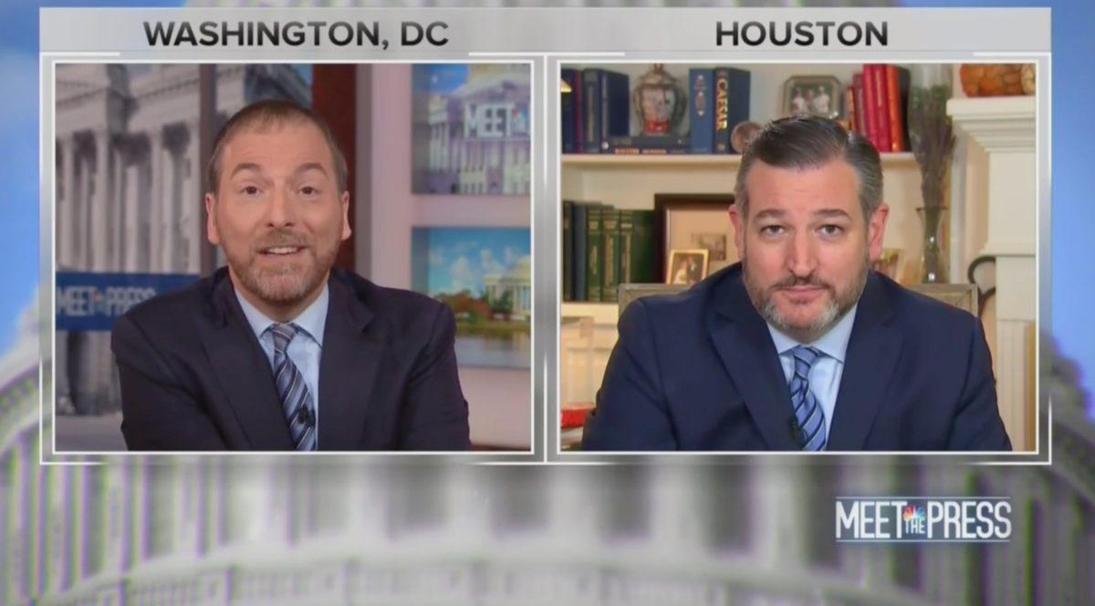 Ted Cruz's Ukraine Claim on Meet The Press Draws Laughs