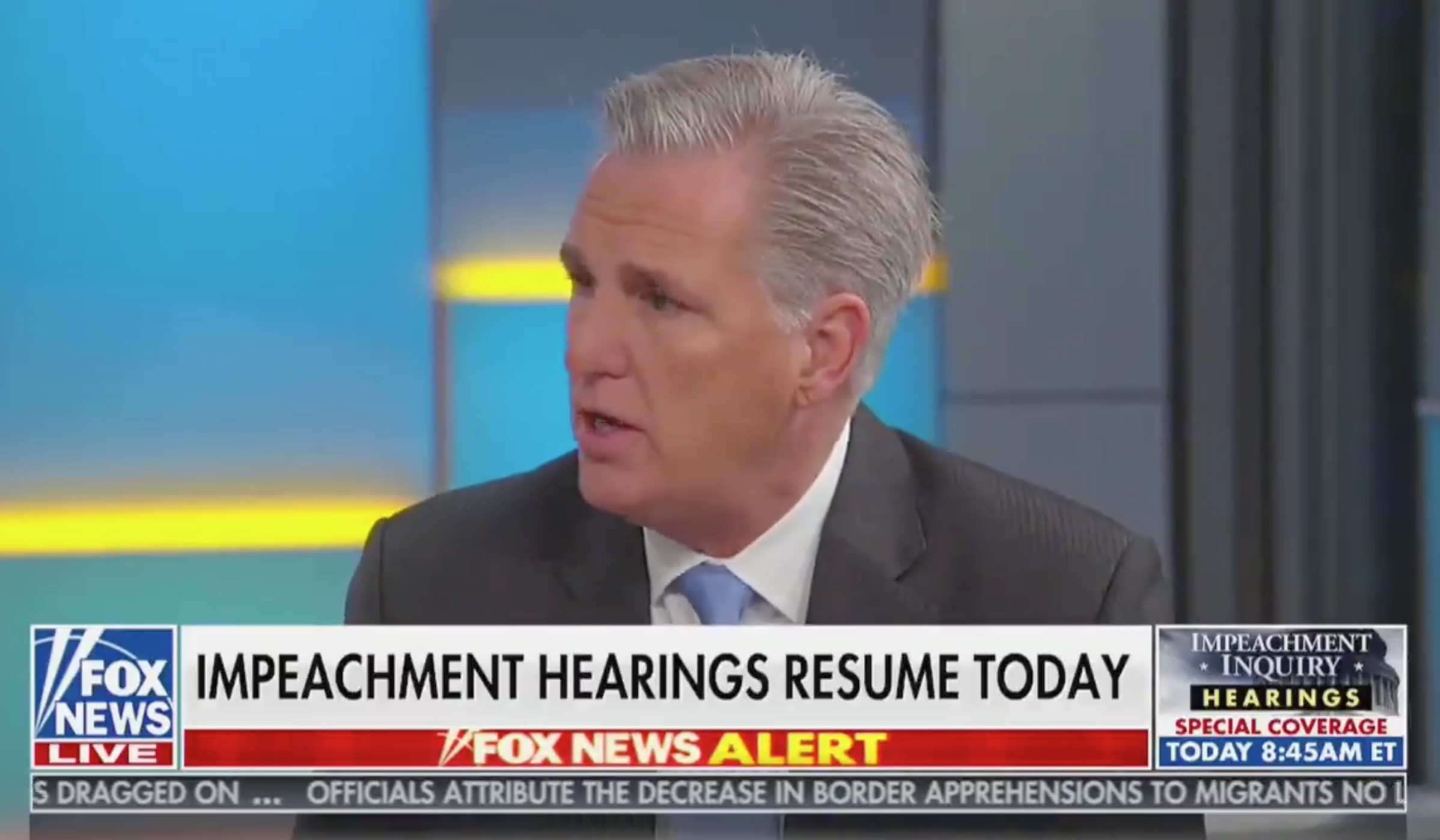 Kevin McCarthy Mocked For Complaining That No President Has Ever Been Impeached in Their First Term