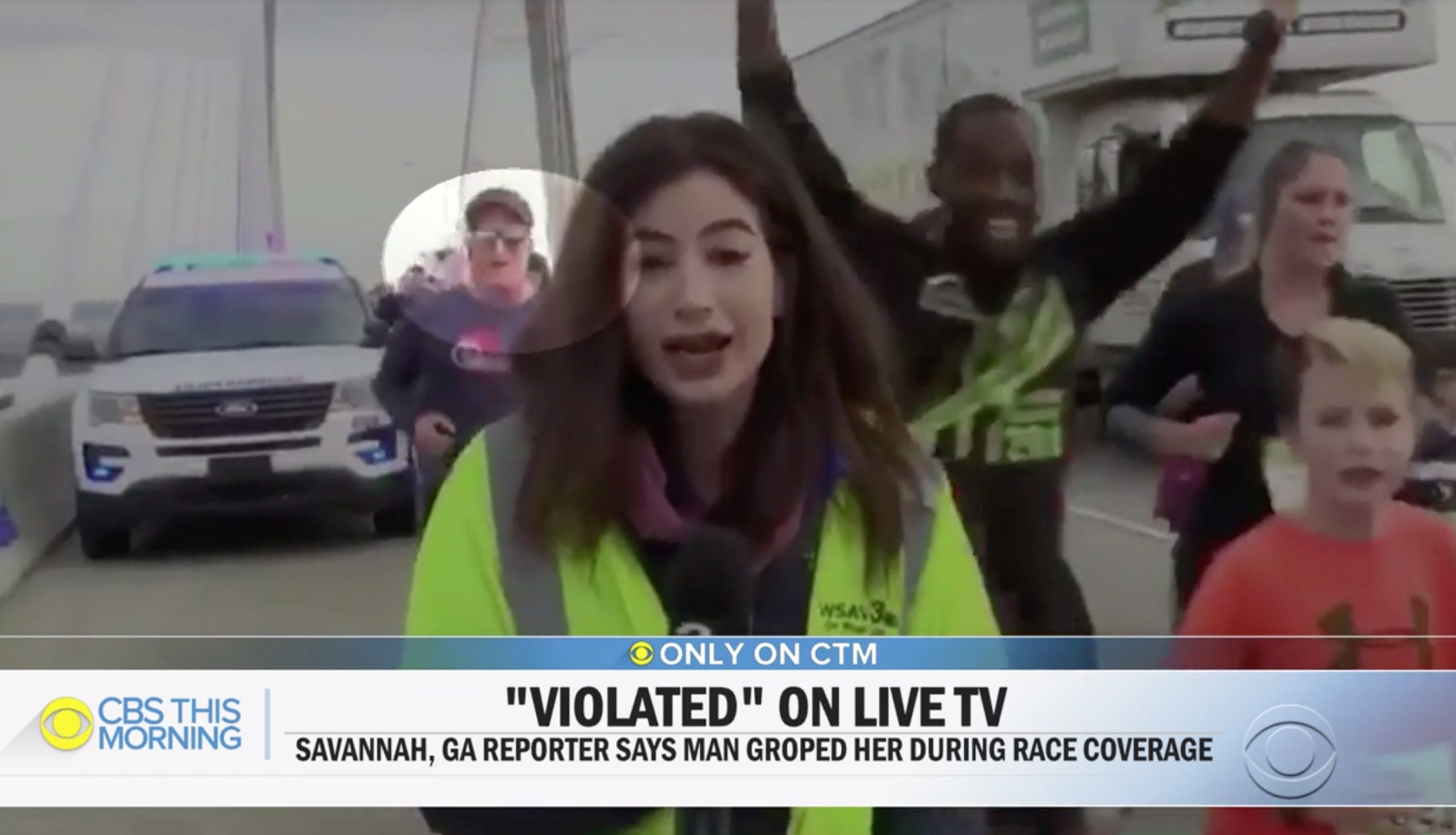 Runner Who Slapped Reporter's Butt on Live TV Identified as Church Youth Group Leader