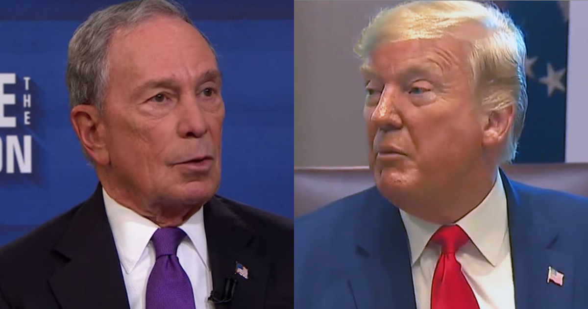 Mike Bloomberg Responds to Trump: I Won't 'Let You Bully Me'