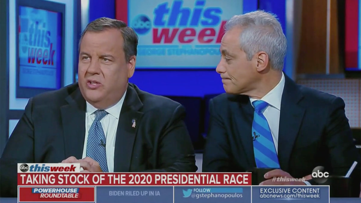 Chris Christie: Pete Buttigieg Is Not Authentic