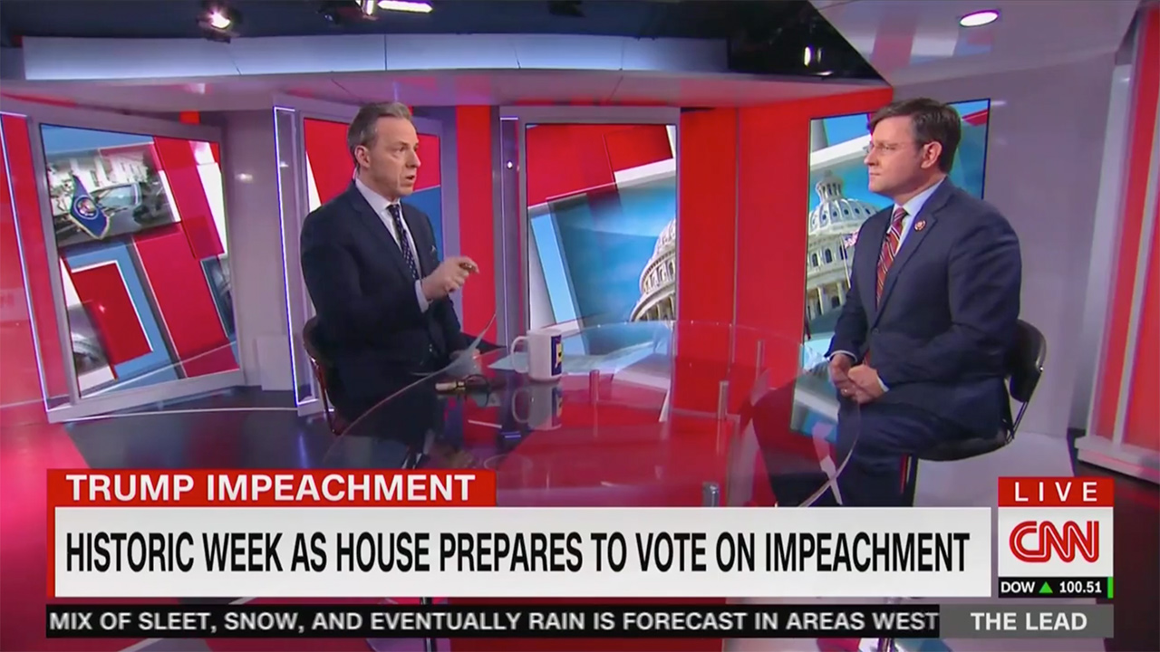 Tapper Brings Up Trump University, Foundation Settlements in Clash With GOP Rep: You Really Think He Cares About Corruption?