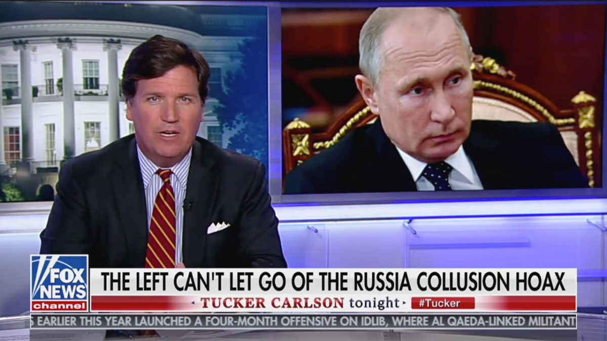 Tucker Carlson: Some in Media Hate US More Than Putin Does