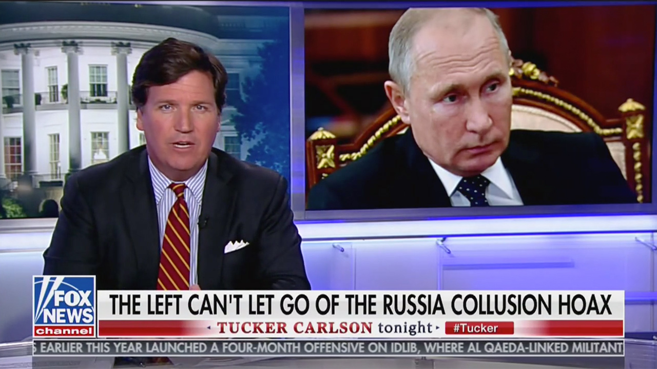 Tucker Carlson: 'Putin, for All His Faults, Does Not Hate America' as Much as Some in the Media Do