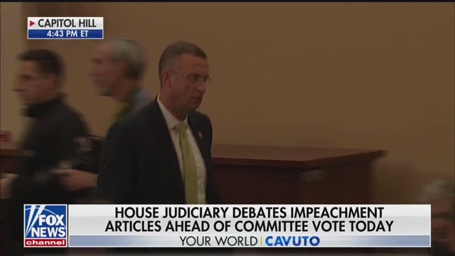 Doug Collins Storms Out of Impeachment Hearing Following Rant on Entering Ukraine Reports into Record