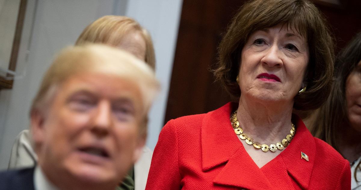 As Trump Trial Begins, Susan Collins Becomes Most Unpopular Senator in