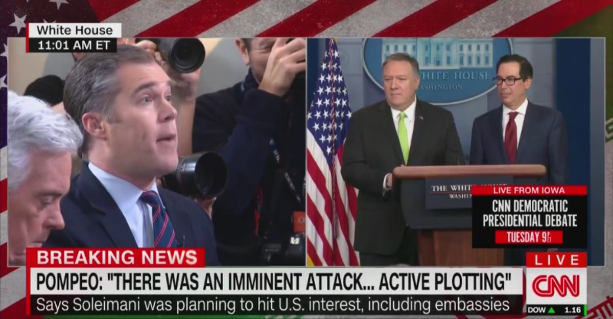 NBC's Peter Alexander Confronts Mike Pompeo Over Controversial Iran Briefing: 'Senators are Lying?'