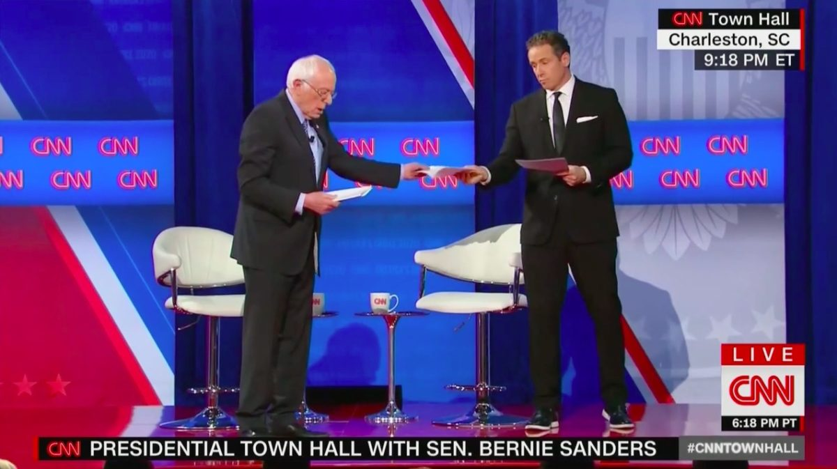 Sanders Brings Alleged Receipts Claiming to Fund His Plans