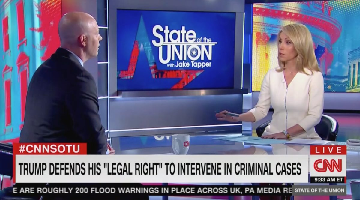 CNN's Dana Bash Grills WH Adviser on Trump-Barr Dispute: 'Why Isn't the President Listening to the Attorney General?'