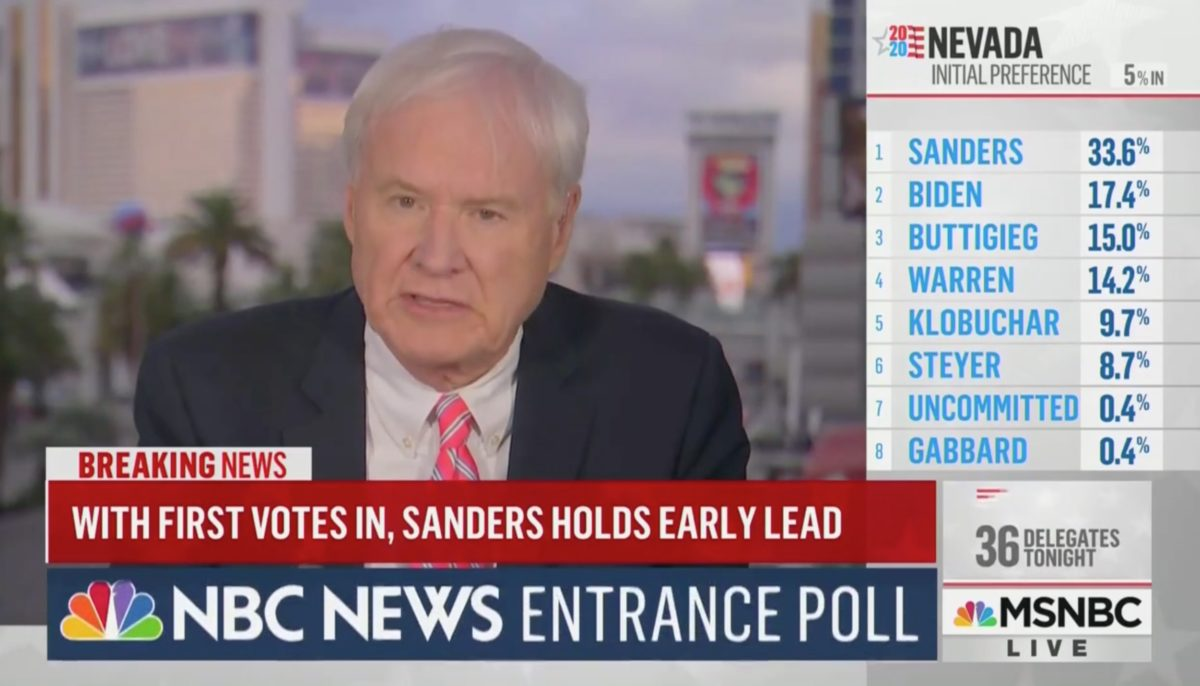 Chris Matthews Compares Bernie Sanders Winning Nevada to France Falling to Germany in 1940