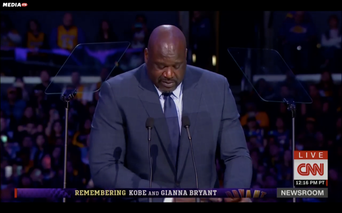 'Just Get the Rebound, He's Not Passing': Shaq Pays Loving, Playful Tribute to Kobe Bryant