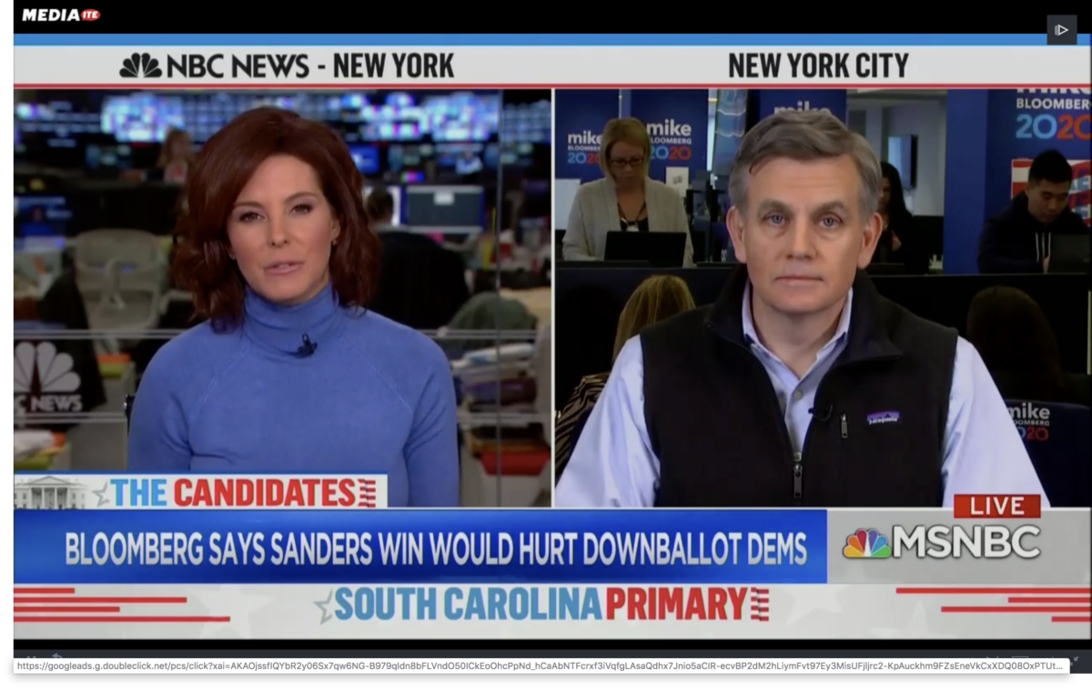 Bloomberg Campaign Manager Attacks Bernie Sanders on MSNBC