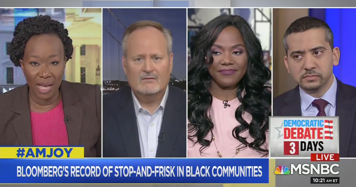 Tim O'Brien Grilled by Joy Reid, Panel Over Bloomberg Record