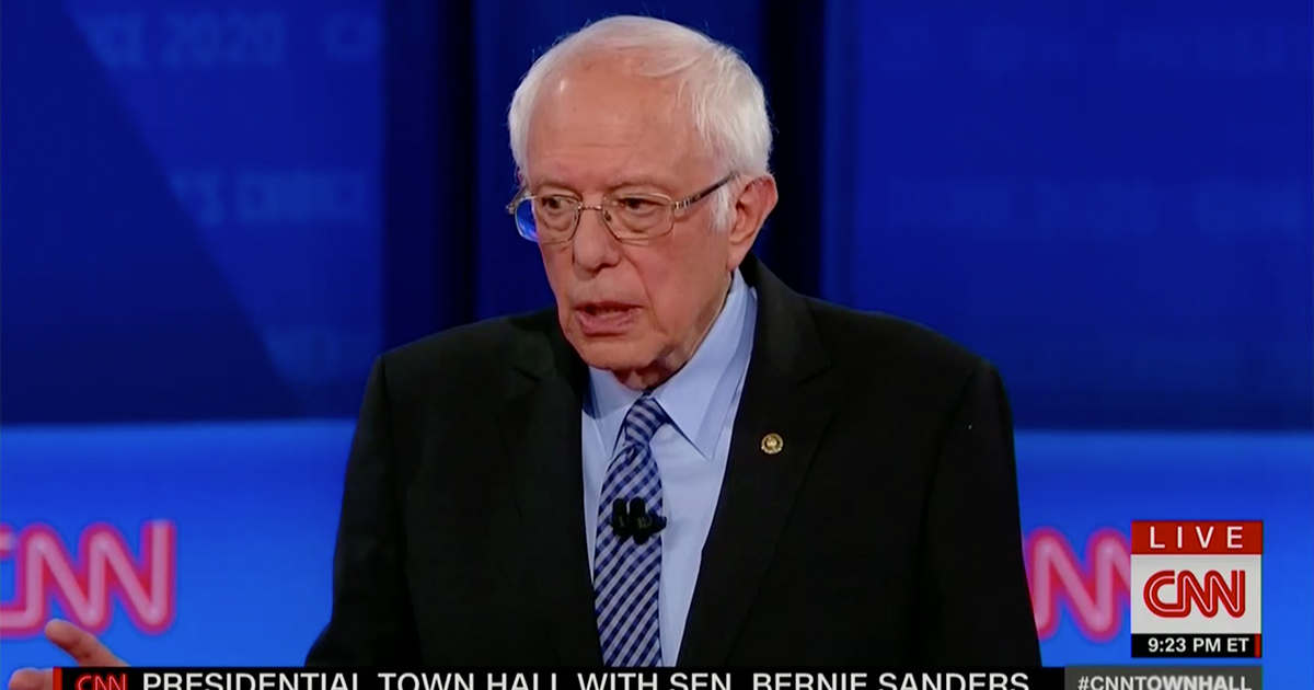 Bernie Sanders Addresses Possible Contested Convention