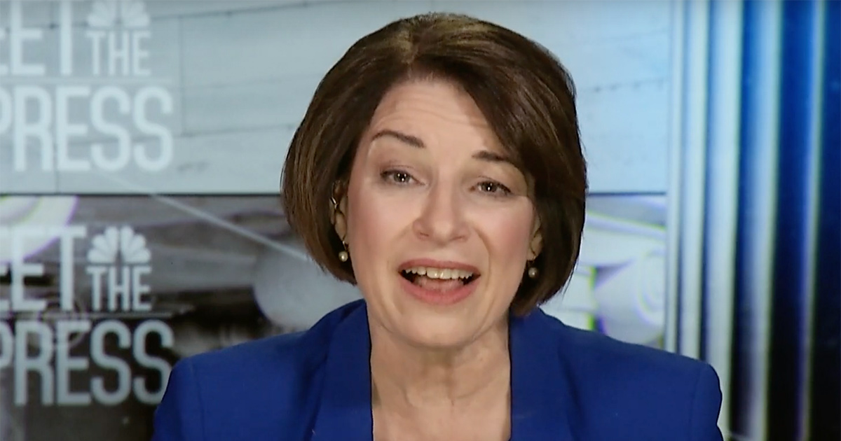 Amy Klobuchar: Bloomberg Can't Just 'Hide Behind the Ads'
