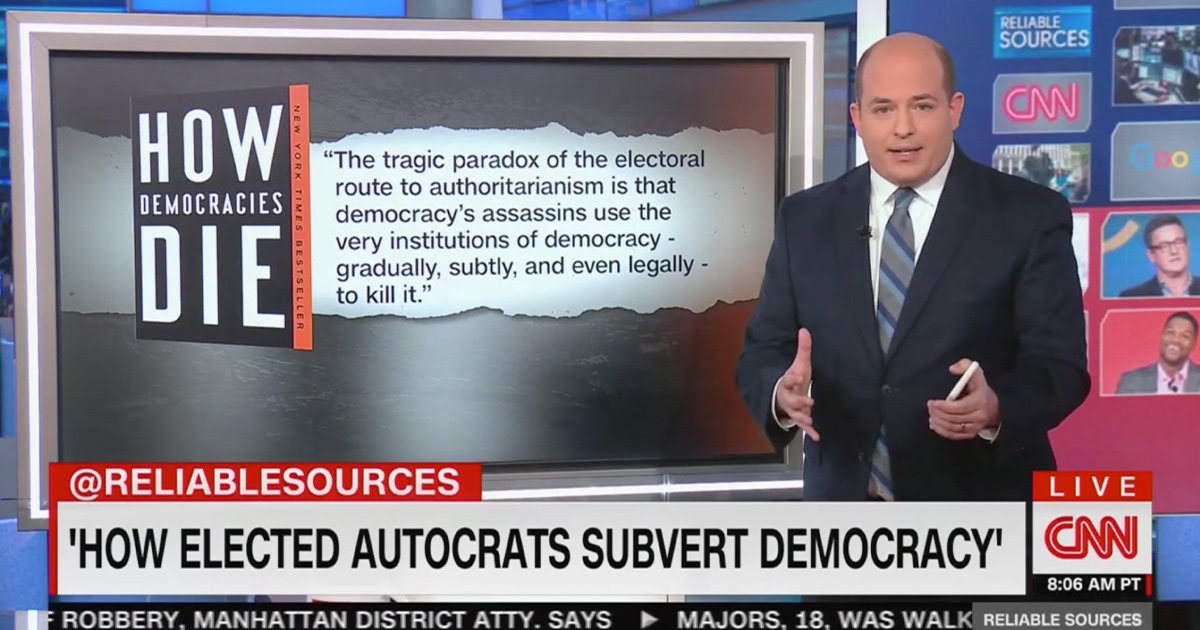 Brian Stelter Raises Concern of 'Creeping Authoritarianism'