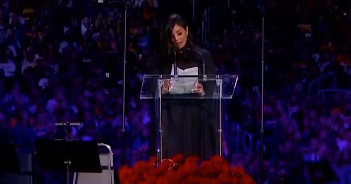 Vanessa Bryant Delivers Moving Eulogy for Kobe and Gianna: 'We Love You Both and Miss You'