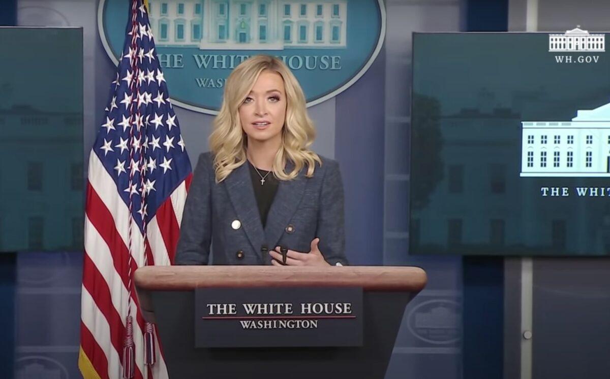 WATCH: Kayleigh McEnany Press Briefing LIVE STREAM