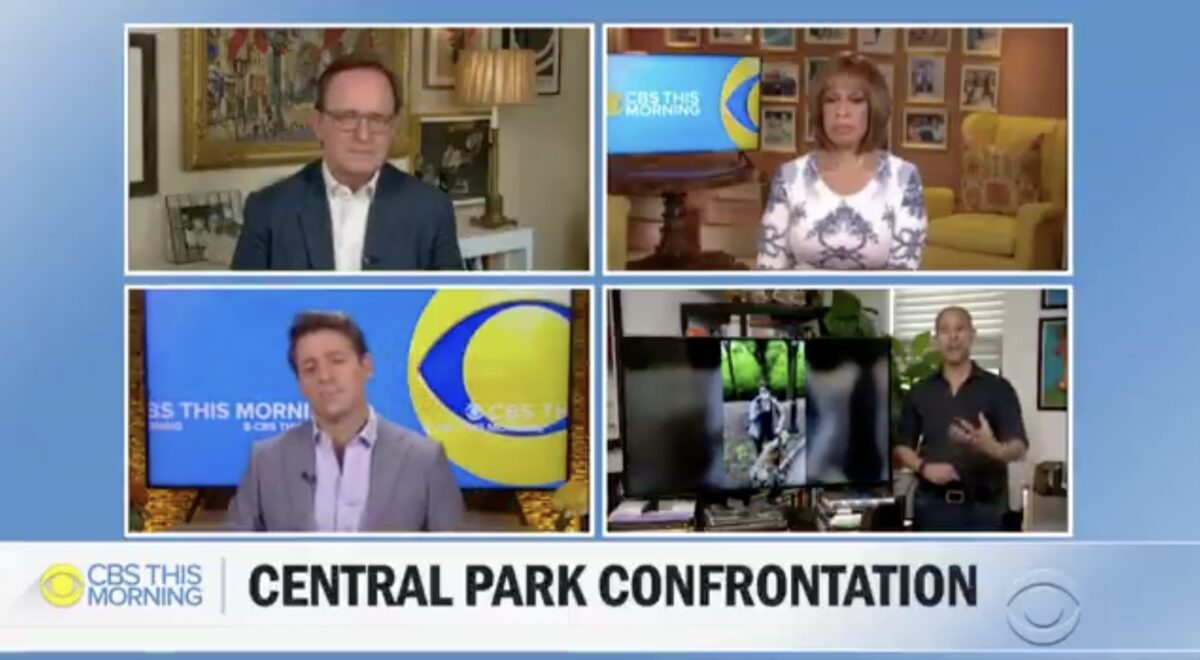 Watch Gayle King's Emotional Reaction to Racist Incident in Central Park: Feels Like 'Open Season' on Black Men