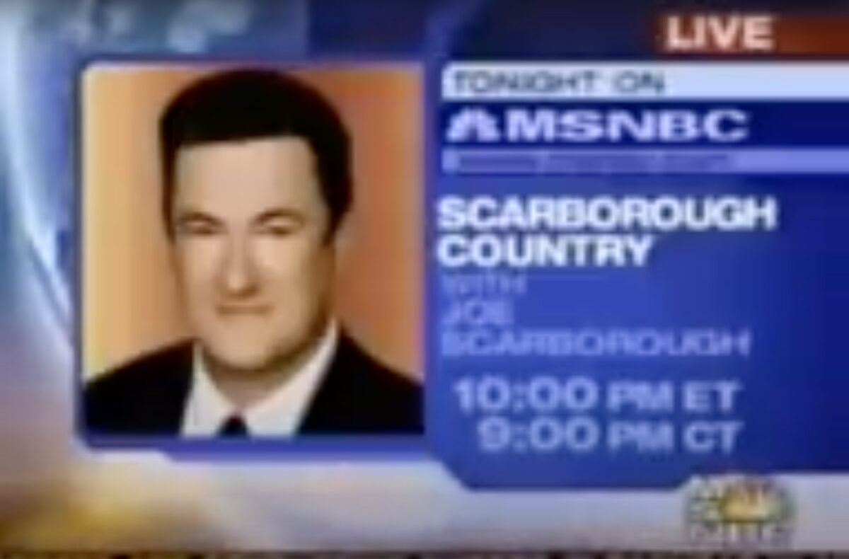 FLASHBACK: Here's the 2003 Imus Clip Which Kayleigh McEnany Claimed Showed Joe Scarborough Joking About Intern's Death