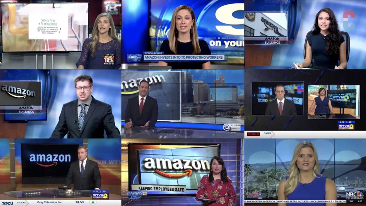 11 TV Stations Run Pro-Amazon Script Written by Amazon