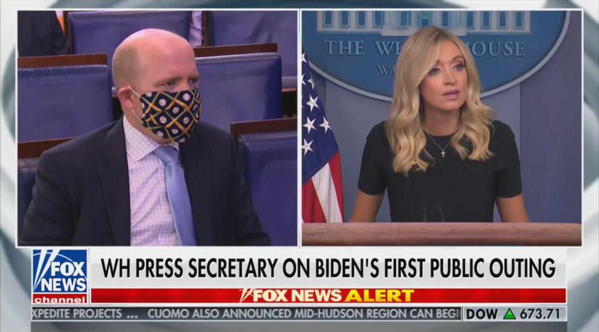 Kayleigh McEnany Mocks Joe Biden For Following CDC Guidelines on Masks