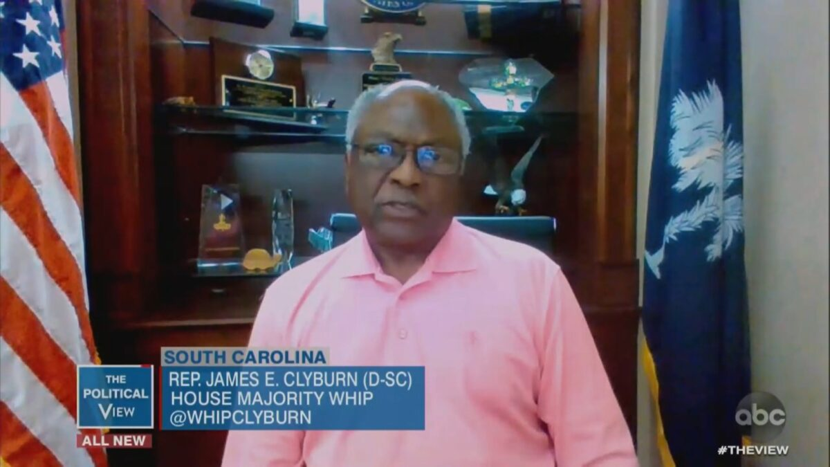 Rep. James Clyburn Says He 'Cringed' Over Joe Biden's 'You Ain't Black' Comment