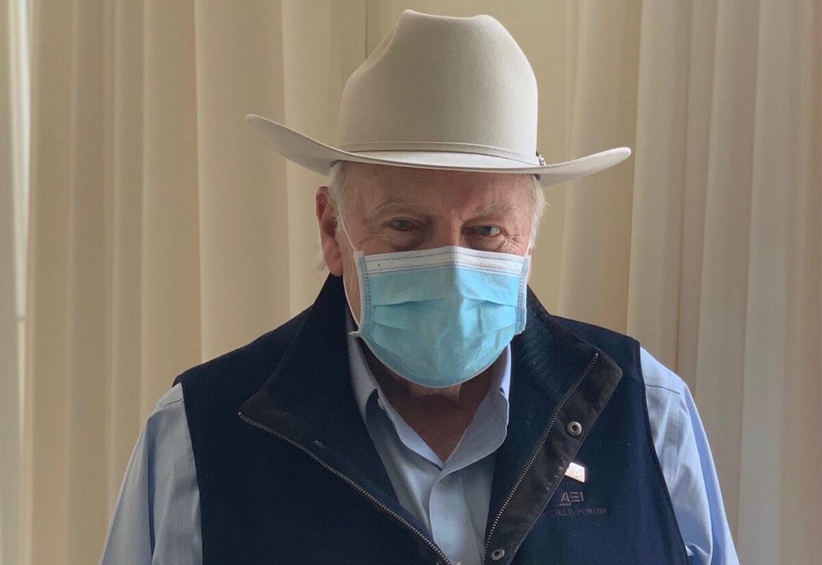 Dick Cheney Unfall