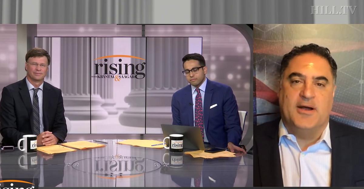 Cenk Uygur Makes Case for Elizabeth Warren By Mocking Kamala Harris' 'Fake Laugh', Says Biden May Not Even 'Like' Harris