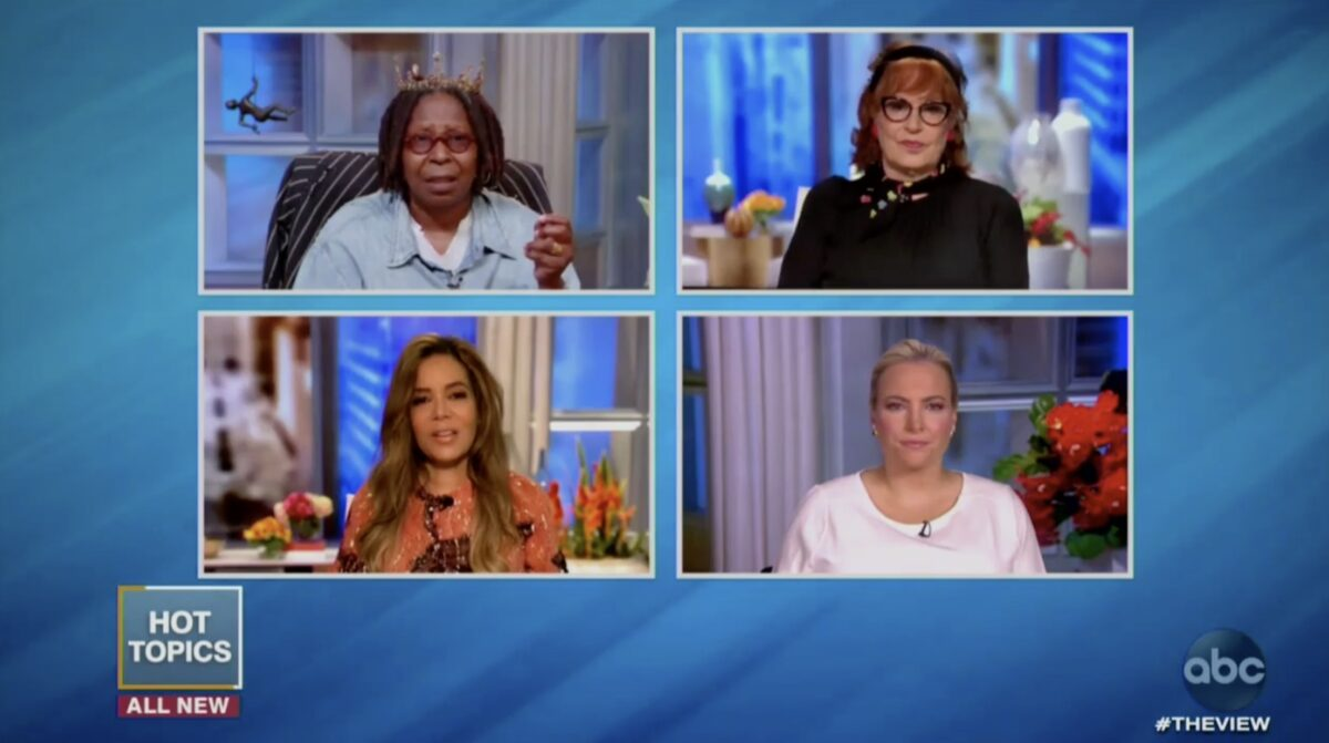 The View Hosts Rip Trump For Calling BLM a 'Symbol of Hate': He's 'Race Baiting,' 'Sending A Very Dangerous Message'