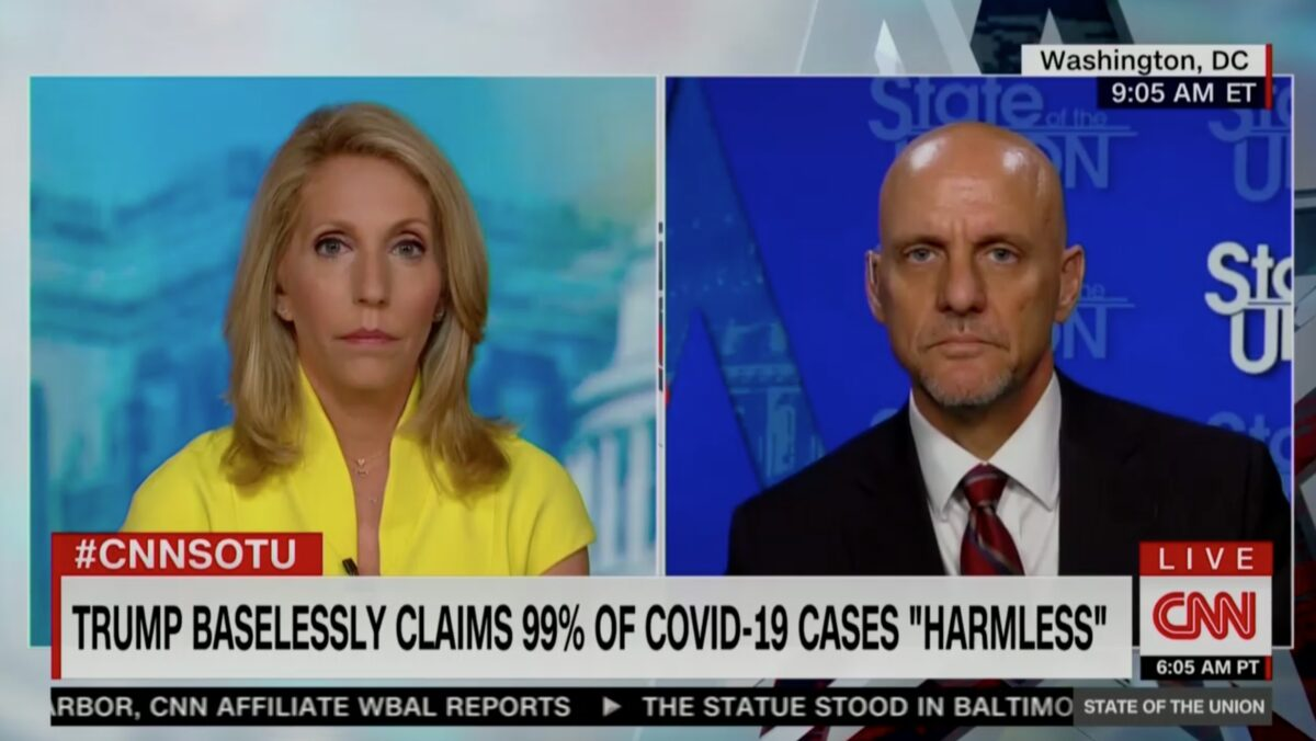 FDA Chief Dodges on Trump '99 Percent' Coronavirus Claim