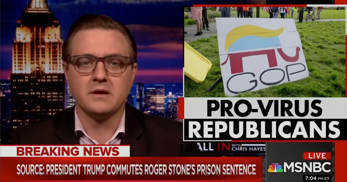 Chris Hayes Erupts on Republican Coronavirus Response