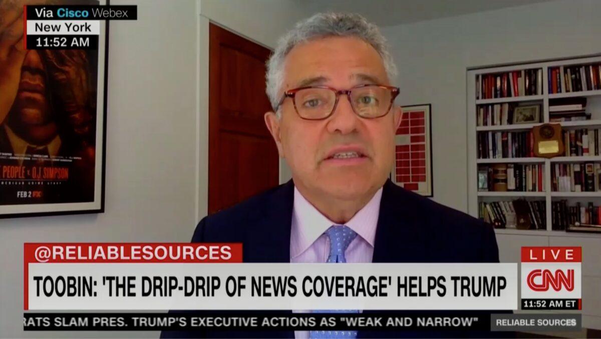 CNN Analyst Jeffrey Toobin Attacks White Men On Trumps