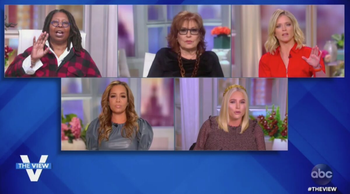 WATCH: The View Ignites After Meghan McCain Says She Expects Rumored Trump SCOTUS Pick to Be 'Slandered and Maimed'