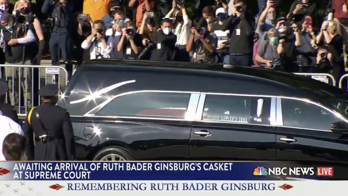 NBC's Pete Williams Gets Choked Up Over Ruth Bader Ginsburg