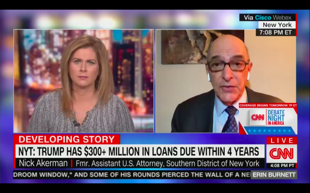 Former Watergate Prosecutor: 'No Question About It', Trump and Ivanka Could Go To Jail for Tax Fraud If He Loses the Election