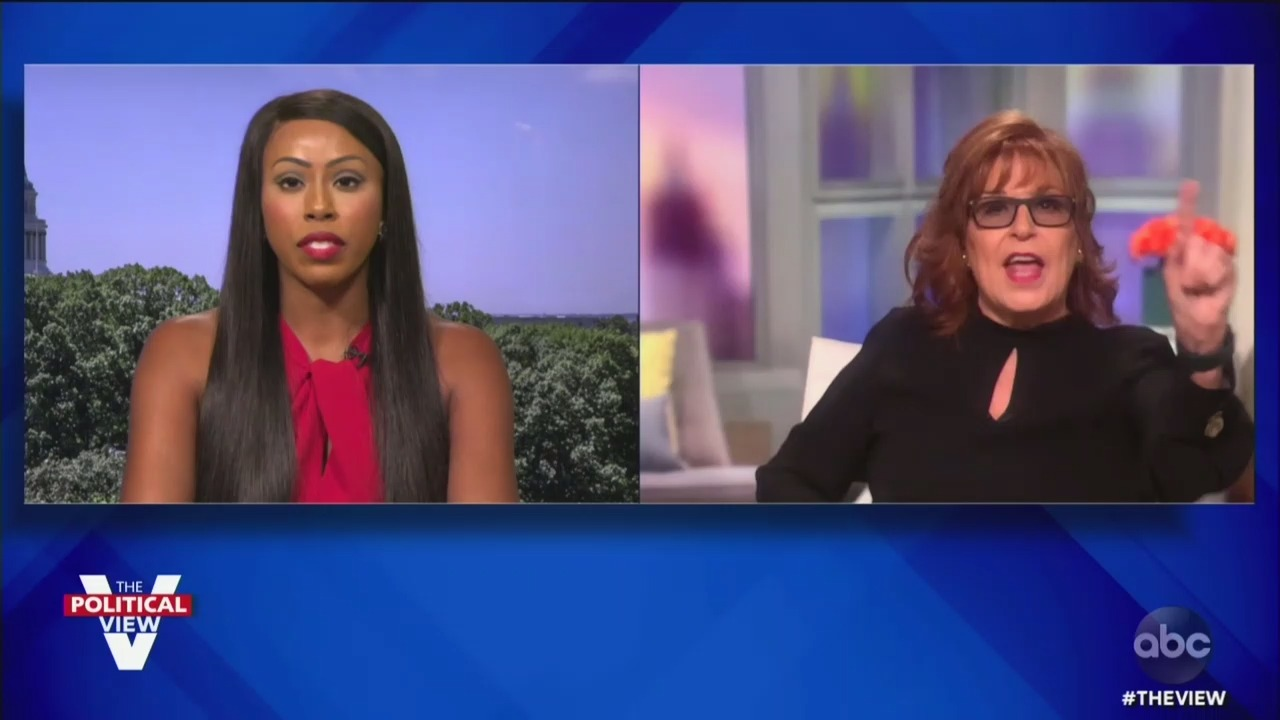 'The View' Derails After GOP House Candidate Accuses Joy Behar of Parading 'Around in Black Face'