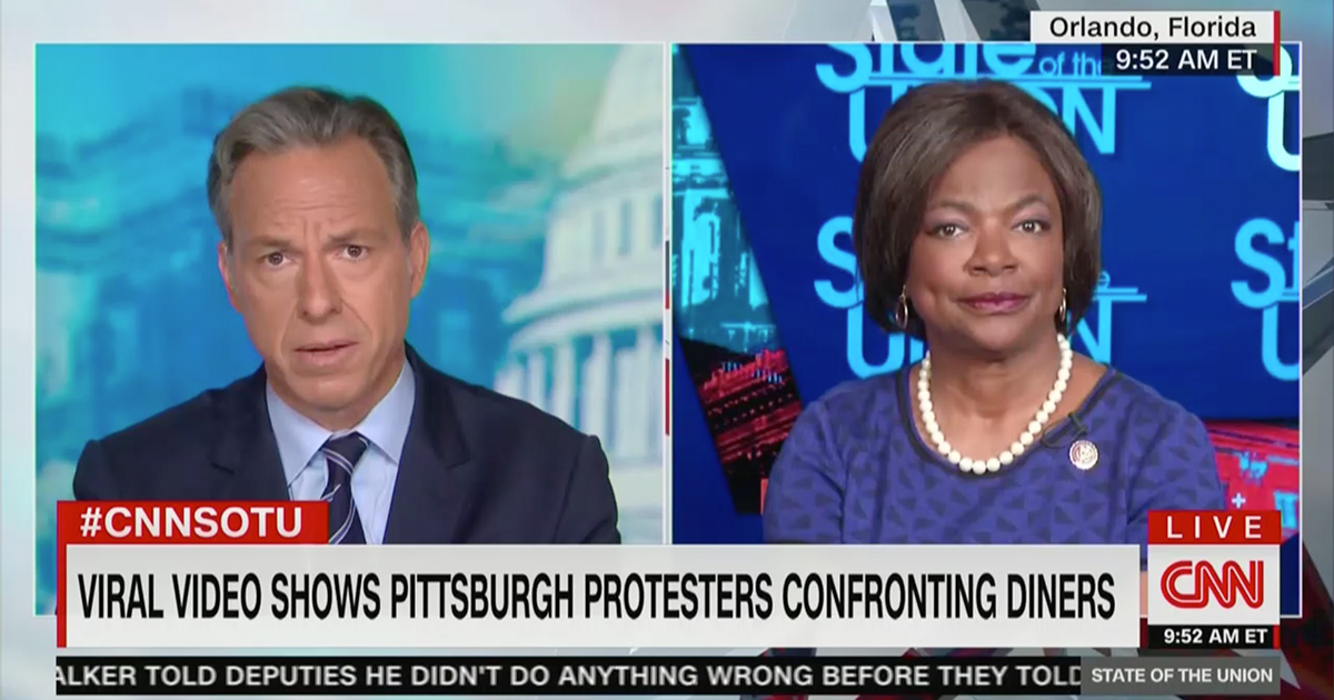 Jake Tapper: Are Some Protesters Drawing People to Trump?