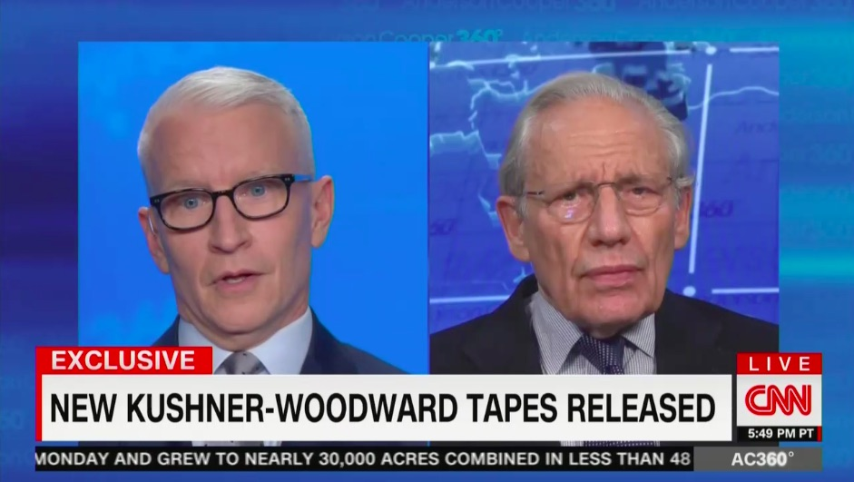 Anderson Cooper Shocked By New Kushner Tape Suggesting Trump Was Politically 'Better This Way' in May Amid 77,000 Covid Deaths