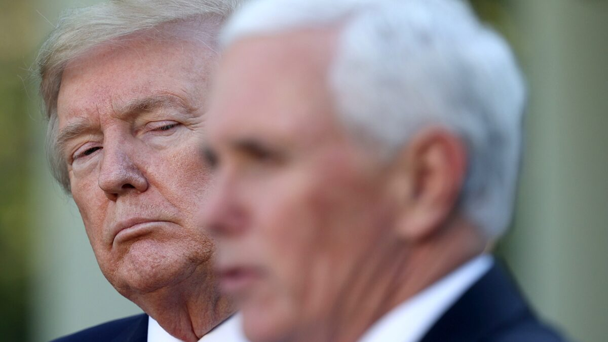 Mike Pence Does Better Against Joe Biden If Trump Drops Out