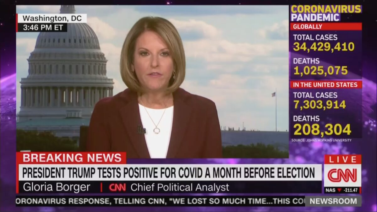 Gloria Borger Slams White House Over Lack Of Transparency
