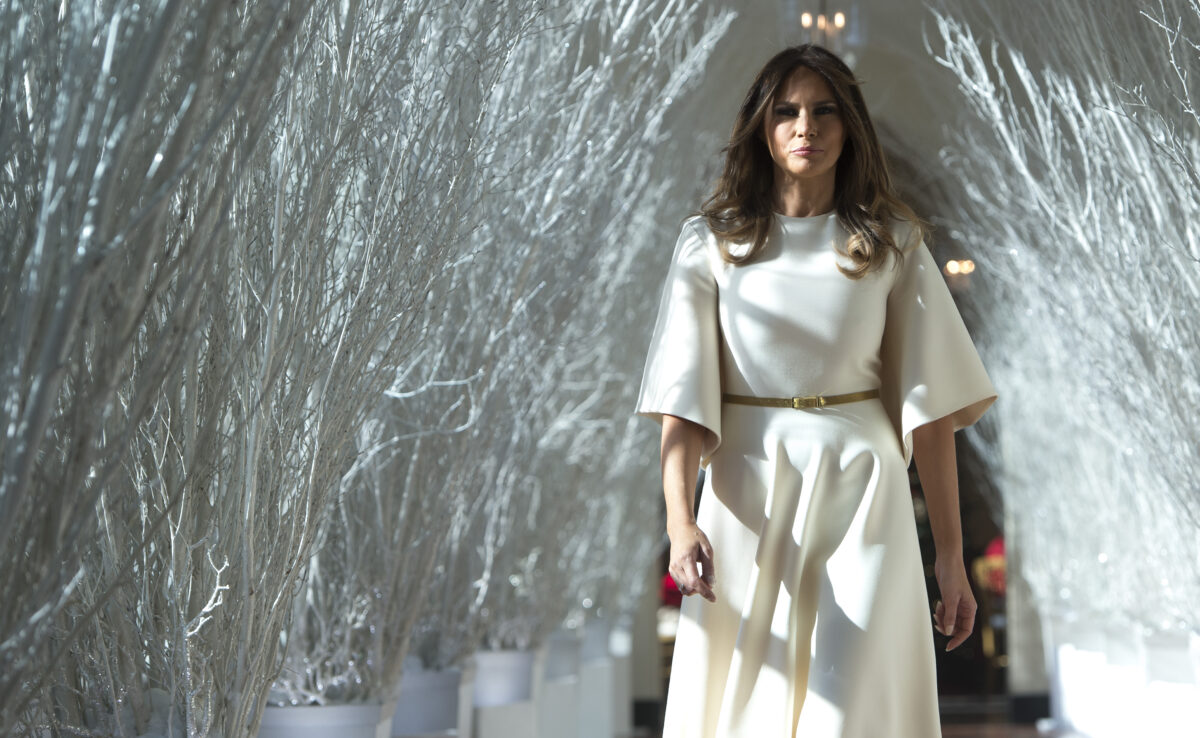 Leaked Calls Reveal Melania's Private War on Christmas: 'Who Gives a F*** About Christmas Stuff'